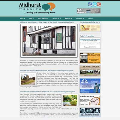 midhurst-website.co.uk - Letting the community know