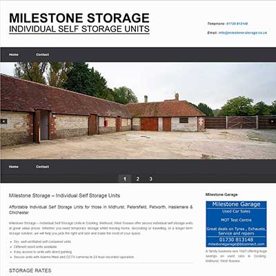 milestone-storage.co.uk - Individual Self Storage Units